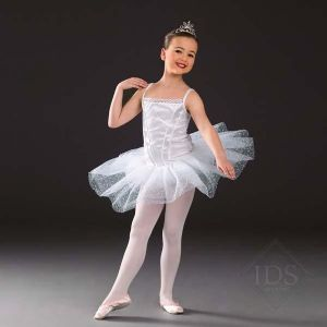 White Ballerina Tutu - 1 x age 3-5 and 1 x age 6-8